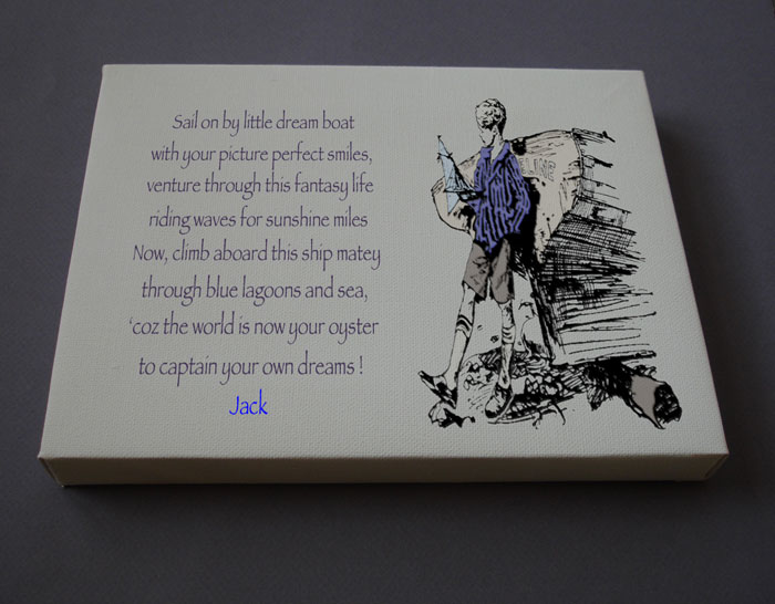 Birthday Gift Boy Gift Personalized Poetry Poem #C2